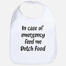 Feed me Dutch Food Bib