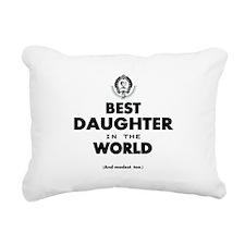 The Best in the World Best Daughter Rectangular Ca