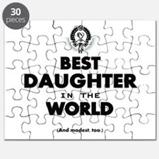 The Best in the World Best Daughter Puzzle