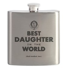 The Best in the World Best Daughter Flask