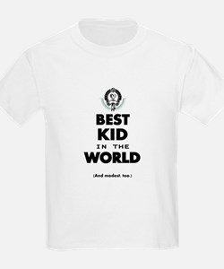 The Best in the World Best Kid T-Shirt