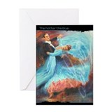 Ballroom dancing Greeting Cards