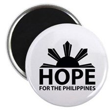 Hope For The Philippines Magnet