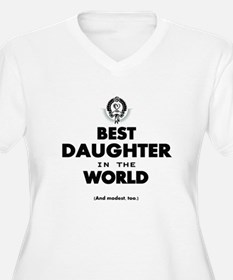 The Best in the World Best Daughter Plus Size T-Sh