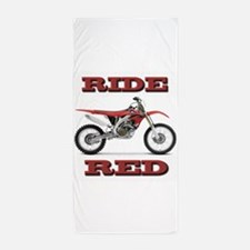RideRed 08 Beach Towel