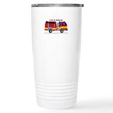Fire And Rescue Travel Mug