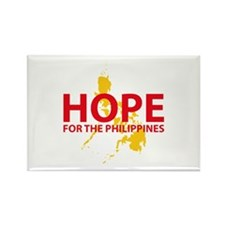 Hope For The Philippines Rectangle Magnet