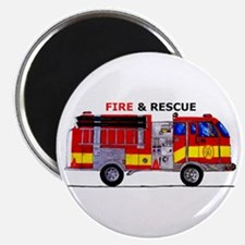 Fire And Rescue Magnets
