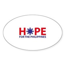 Hope For The Philippines Decal