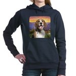 Beagle Meadow Hooded Sweatshirt