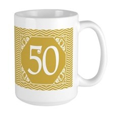 50th Birthday (Chevron) Mug