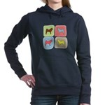 colorblock.png Hooded Sweatshirt