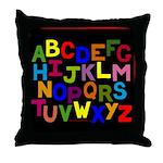 Alphabet Throw Pillow