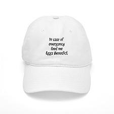 Feed me Eggs Benedict Baseball Cap