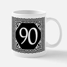 90th Birthday (Chevron) Mug