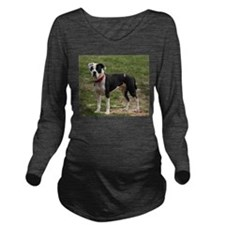 Bully Dogs 2 Long Sleeve Maternity T-Shirt