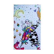 Colorful Jester Decal