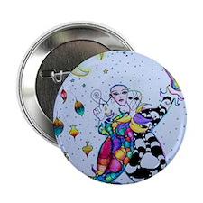 "Colorful Jester 2.25"" Button"