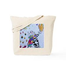Colorful Jester Tote Bag