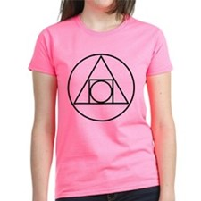 circle square triangle symbol T-Shirt