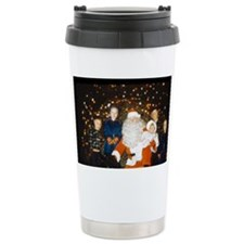 Santa and his grandchil Travel Mug