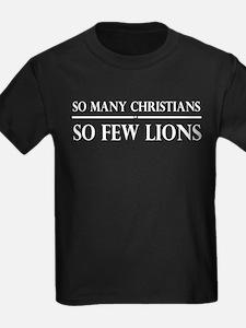 So Many Christians, So Few Lions T