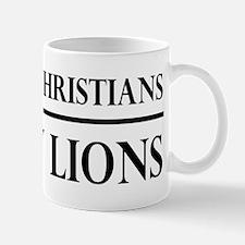So Many Christians, So Few Lions Mug