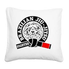 BJJ - Brazilian jiu Jitsu Fig Square Canvas Pillow