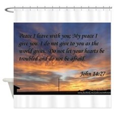 john 14:27 Peace I leave with you Sunset Shower Cu