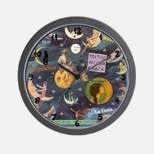 Moon Madness Wall Clock