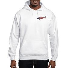 Patriotic Angler Shark Hoodie