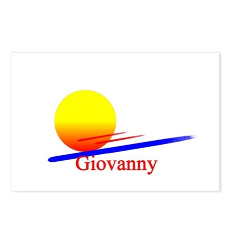 Giovanny Postcards (Package of 8)