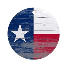 Texas Old Paint Ornament (Round)