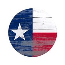 "Texas Old Paint 3.5"" Button"