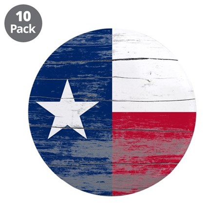 """Texas Old Paint 3.5"""" Button (10 pack)"""