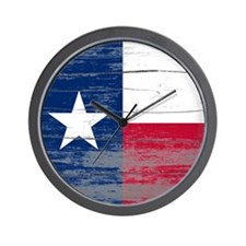 Texas Old Paint Wall Clock