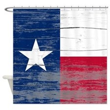 Texas Old Paint Shower Curtain