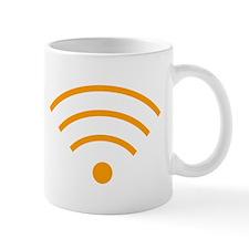 Orange Wi-Fi Signal Mugs