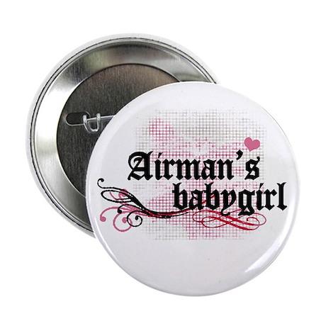 Airman's Babygirl Button