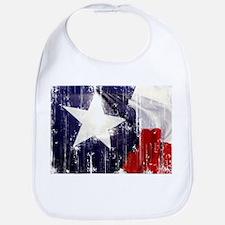 Texas Waving Flag Bib