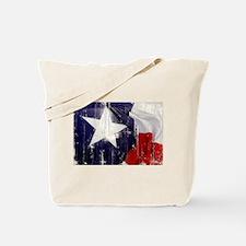 Texas Waving Flag Tote Bag