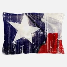 Texas Waving Flag Pillow Case