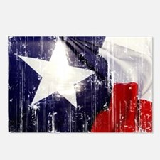Texas Waving Flag Postcards (Package of 8)