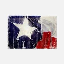 Texas Waving Flag Rectangle Magnet