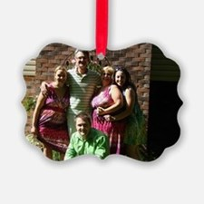 Family photo Ornament