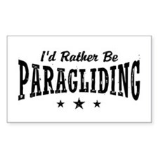 I'd Rather Be Paragliding Decal