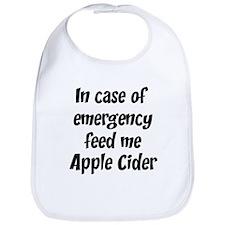 Feed me Apple Cider Bib