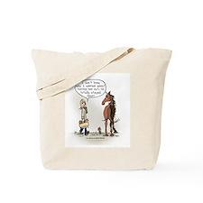 Horse Health Turnout Fun Tote Bag