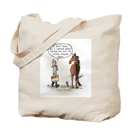 Horse Health Turnout Fun Tote Bag