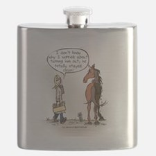Horse Health Turnout Fun Flask